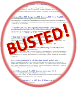 Busted Best SEO Companies
